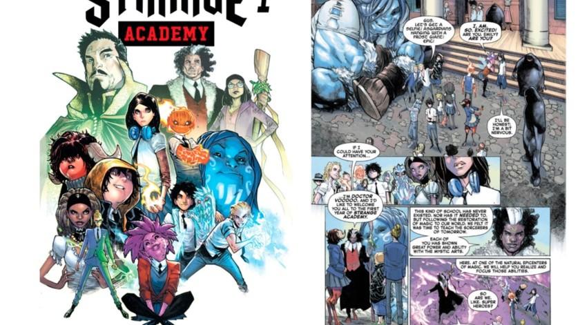 Marvel anunció que el cómic sobre un escuela para jóvenes con poderes místicos en Nueva Orleans hará su debut en marzo.(AP)