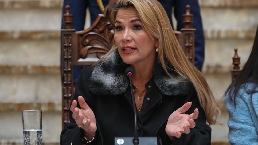 Jeanine Áñez(EFE)