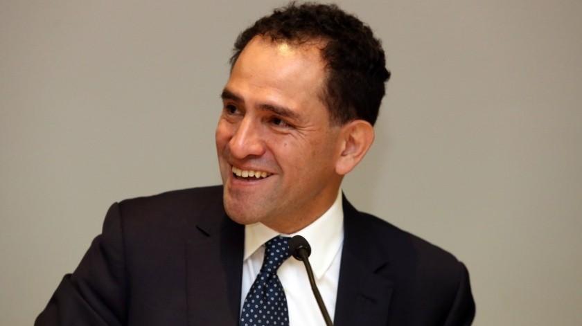 Arturo Herrrera, titular de la Secretaría de Hacienda.(Archivo.)