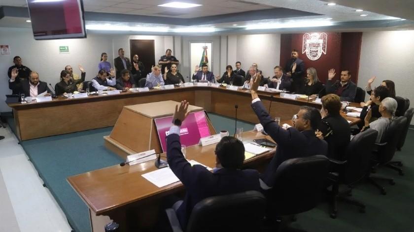 El presupuesto para el próximo año para el 23 Ayuntamiento de Tijuana será similar al del presente año, fue de mas de 7 mil millones de pesos.(Sergio Ortiz)