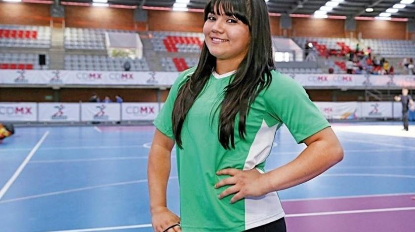 Recibirá Alexa Moreno la 'Medalla al mérito deportivo 2019'(Archivo)