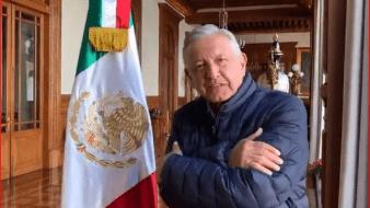 El presidente de México, Andrés Manuel López Obrador, le deseó el triunfo a Andy Ruiz.