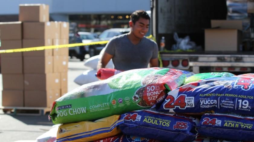 La meta es recolectar 5 toneladas de alimento, la cantidad de comida que recibirán estará en función del número de rescates con que cuenten.