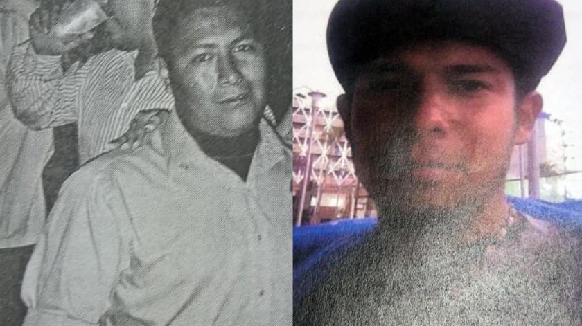Los hombres desaparecidos son José Alberto García Pineda de 37 años y a Nayith Alejandro Andrade Villaman de 25 años de edad.(Cortesía)
