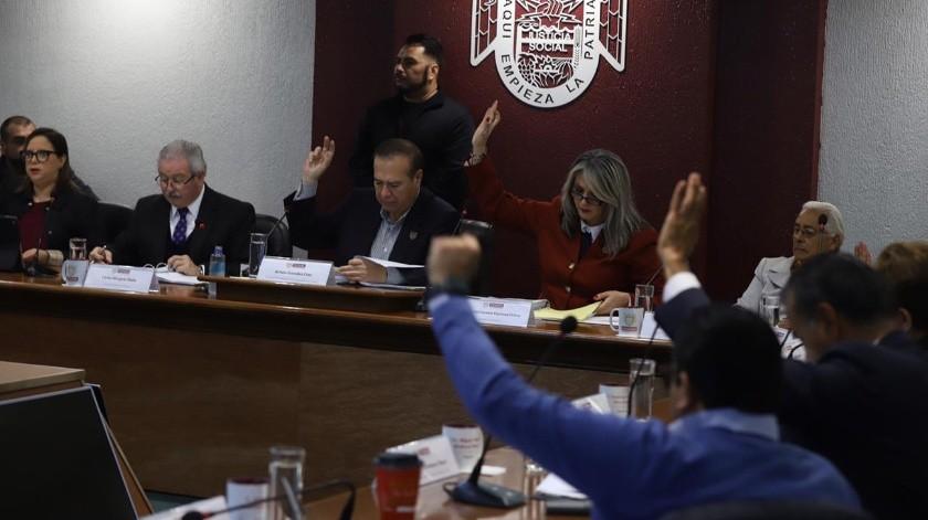 El presupuesto fue aprobado de manera unánime por el Cabildo de Tijuana.(Sergio Ortiz)