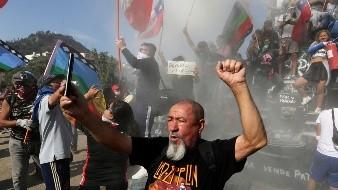 Los viernes reviven las protestas en Chile