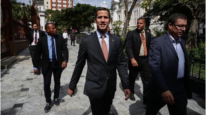 """Hasta ahora, la Administración estadounidense había defendido que """"todas las opciones estaban sobre la mesa"""" en relación con la crisis en Venezuela y aseguraba que eso incluía la opción militar.(EFE)"""