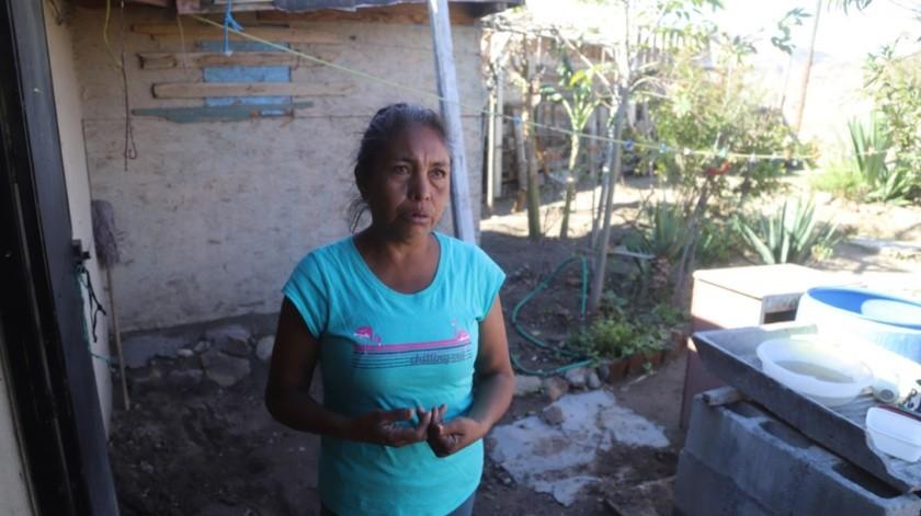 Graciela Morales Álvarez vive momentos difíciles.(Jesús Bustamante)