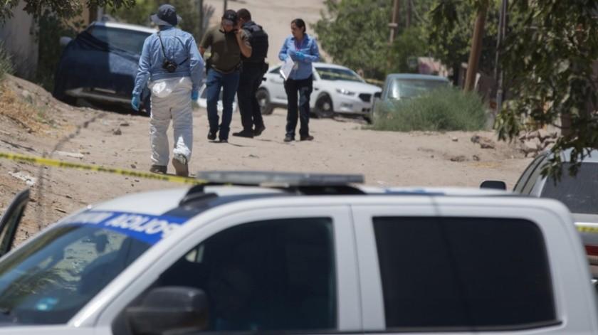 Una de las personas asesinadas estaba envuelta en una bolsa de plástico.