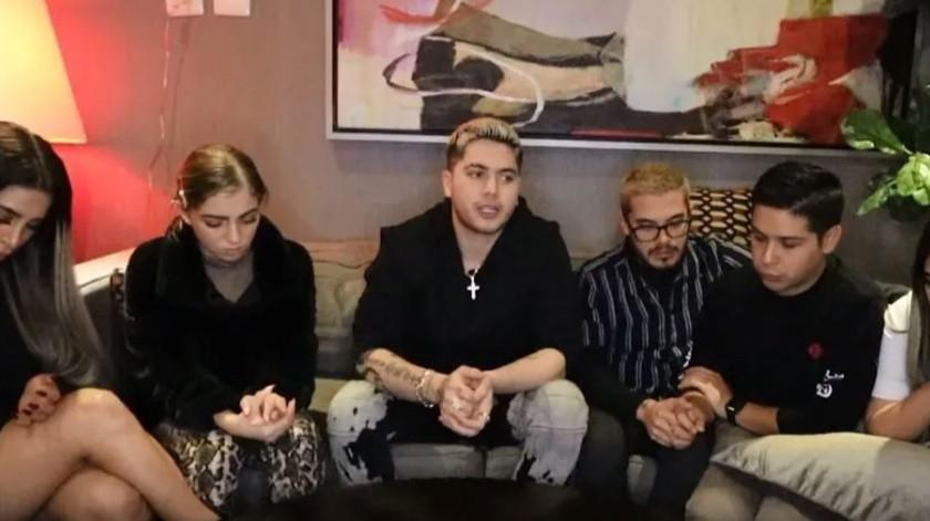 Los youtubers denunciaron a través de un video en redes sociales.