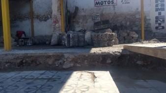 El estacionamiento, propiedad de la familia Abimerhi y de nombre