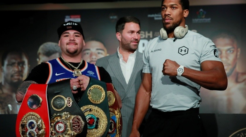 Andy Ruiz quiere trío... de peleas vs Joshua(GH)