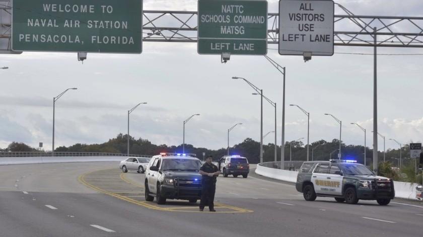 Seis ciudadanos sauditas son arrestados tras tiroteo en base naval en Florida(AP)