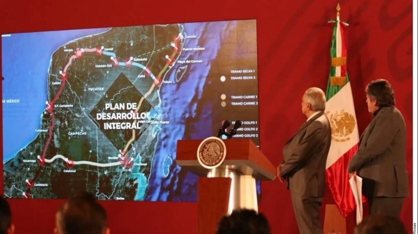 Organizaciones indígenas rechazan construcción de Tren Maya(Agencia Reforma)