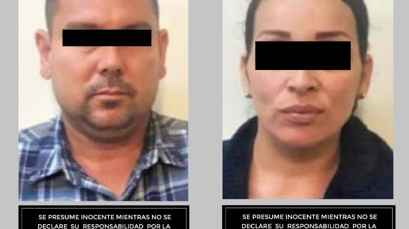 Elementos de la Secretaría de Seguridad y Protección Ciudadana Municipal (SSPCM) lograron la detención de dos personas, un hombre y una mujer, a quienes se les encontró una arma de fuego.(Cortesía)