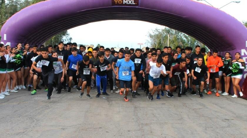 Fiesta atlética en Cobach Baja(Archivo)