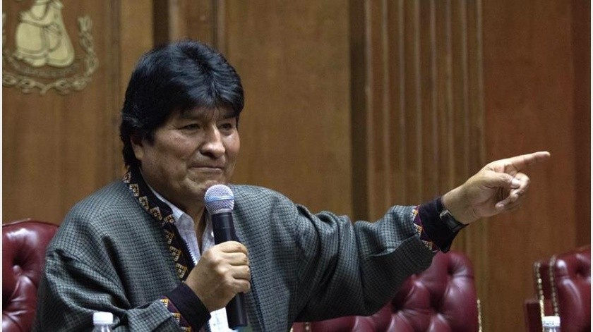 El exmandatario viajó el viernes a Cuba para una consulta médica, según indicaron fuentes diplomáticas mexicanas y del entorno de Morales.(EFE)