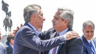 Se reúnen Macri y Fernández en misa