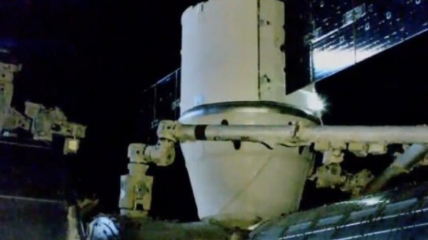 SpaceX entrega ratones y regalos a la estación espacial(NASA)