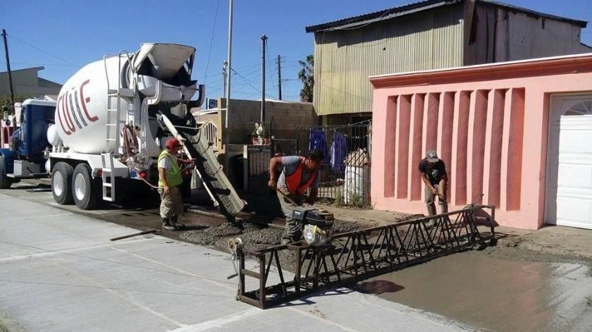 Rehabilitaciones, pavimentaciones, redes de agua potable y drenaje(Cortesía)