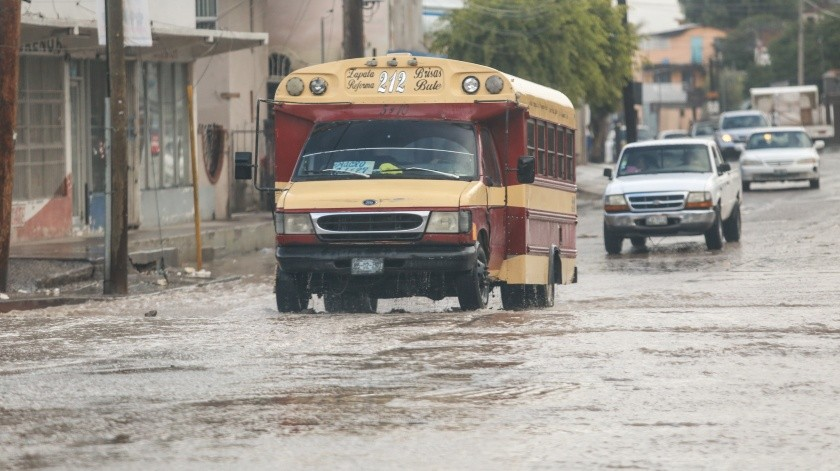 De acuerdo al reporte del clima The Weather Channel, para los próximos días habrá posibilidad de que se presenten algunas lluvias en Tijuana.(Archivo GH)