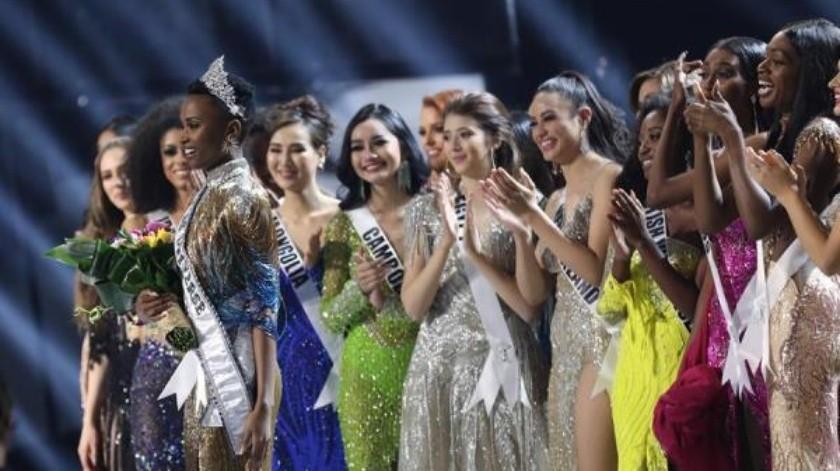 La sudafricana Zozibini Tunzi fue proclamada hoy ganadora de Miss Universo 2019 en la gala que se está celebrando en Atlanta (EE.UU.).(EFE)