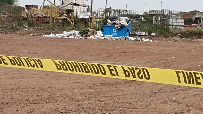 Obregón: Encuentran a recién nacido sin vida en contenedor de basura(Mayra Echeverría)