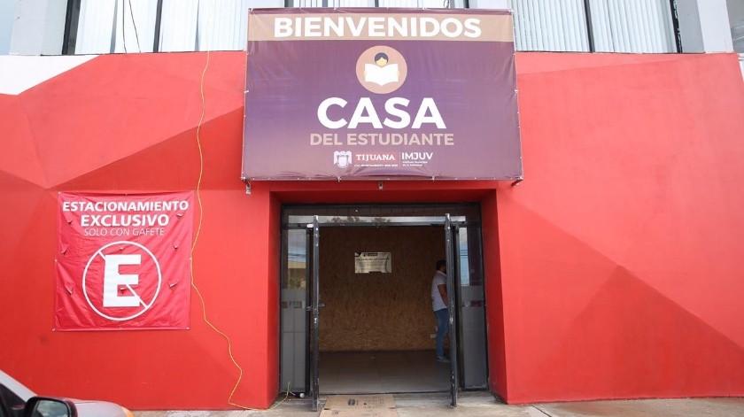El XXIII Ayuntamiento de Tijuana inauguró la Casa del Estudiante, un espacio dedicado al desarrollo profesional, académico y personal de los jóvenes que estará ubicado en Otay, en las instalaciones del Instituto Municipal para la Juventud (Imjuv).(Cortesía)
