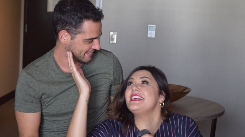 Yuridia al parecer se casó con su novio Matías al menos así lo demuestra una fotografía que compartió en su cuenta de Instagram.(Tomada de la red)