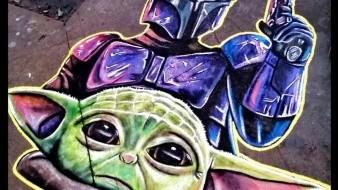 """En vísperas del estreno de """"Star Wars: El Ascenso de Skywalker"""",el último episodio de la saga que llegará el 19 de diciembre, el artista urbano Naitoreido, se une a la moción."""