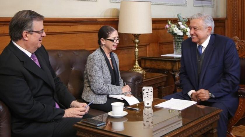 López Obrador sostuvo este martes que las modificaciones del tratado, que se incluirán en un apéndice, deberán pasar por la cámara alta mexicana.