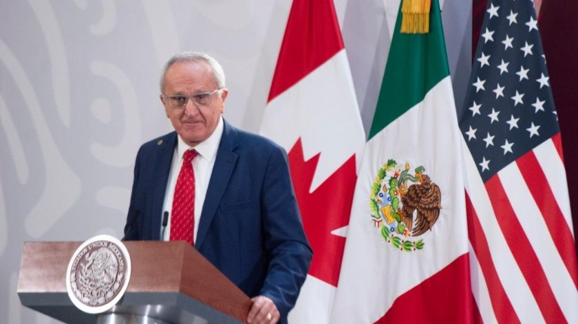México, EU y Canadá firman ratificación de T-MEC en Palacio Nacional(Gobierno de México)