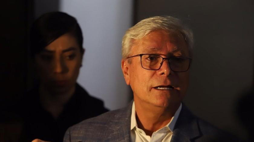 El gobernador del Estado, Jaime Bonilla Valdez.(Gustavo Suárez)