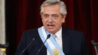 Alberto Fernández ofrece colaboración en búsqueda de avión chileno