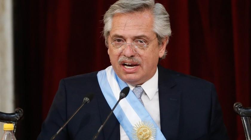 Alberto Fernández(EFE)