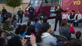 Ponen nueva ruta de autobús en zona de La Condesa