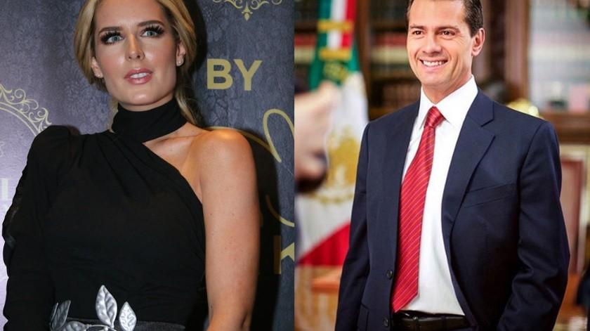 Tania Ruiz y Enrique Peña Nieto recibirán juntos el 2020.(Agencia México)
