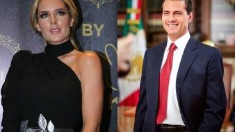 Tania Ruiz y Enrique Peña Nieto recibirán juntos el 2020.