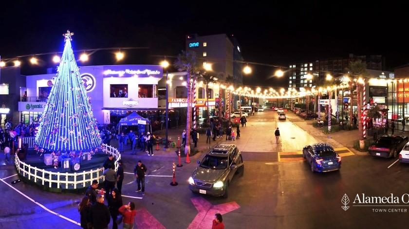 Alameda Otay Town Center está listo para recibir la mejor época del año: La Navidad.(Cortesía)