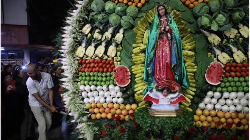 No habrá celebración del Día de la Virgen de Guadalupe en Tijuana(Sergio Ortiz)
