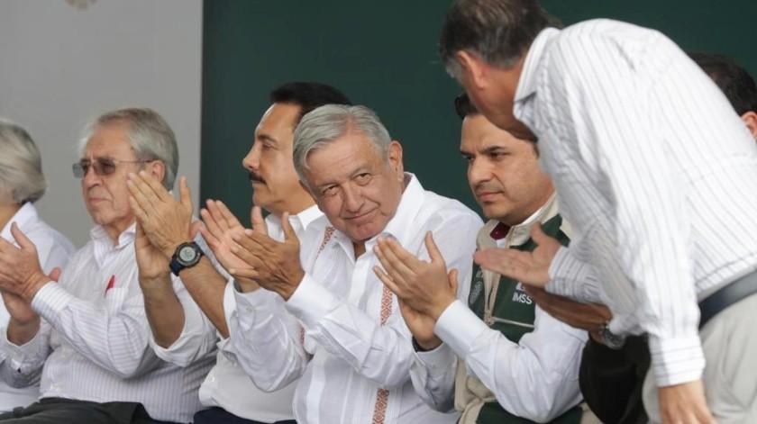El presidente Andrés Manuel López Obrador estará este día en Hermosillo.(Banco Digital)
