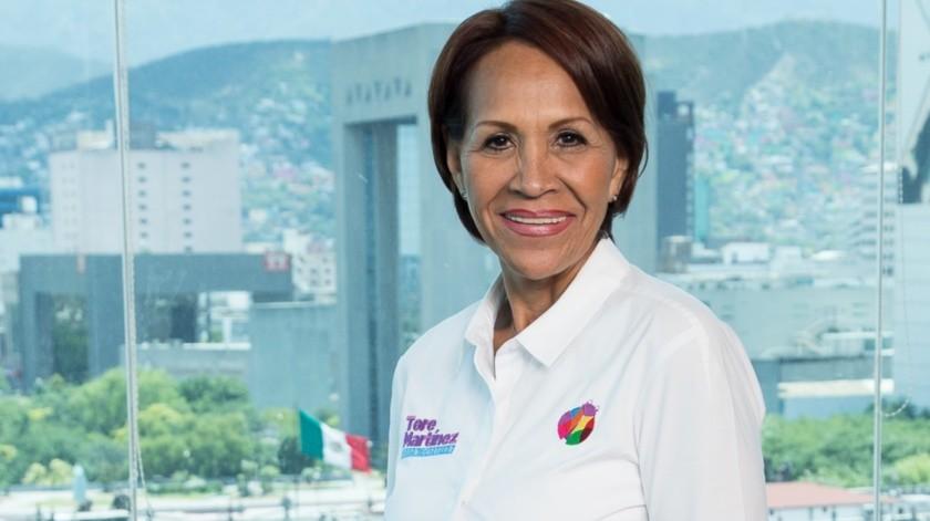 María Teresa Martínez Galván(Agencia Reforma)