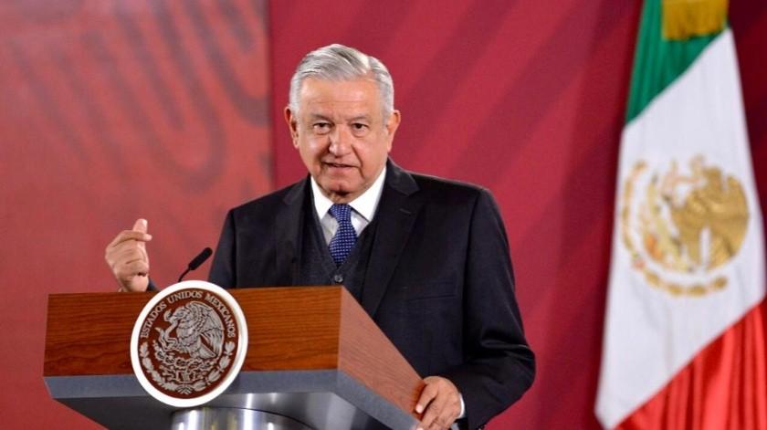 Andrés Manuel López Obrador.(Cortesía.)