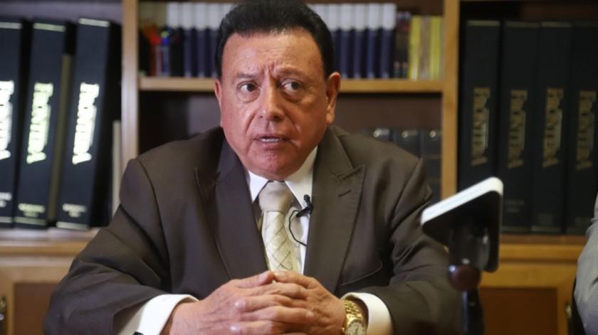 Guillermo Ruiz Hernández asumió el cargo de fiscal el 1 de noviembre de 2019, con el inicio del gobierno de Jaime Bonilla Valdez.(Jesús Bustamante)