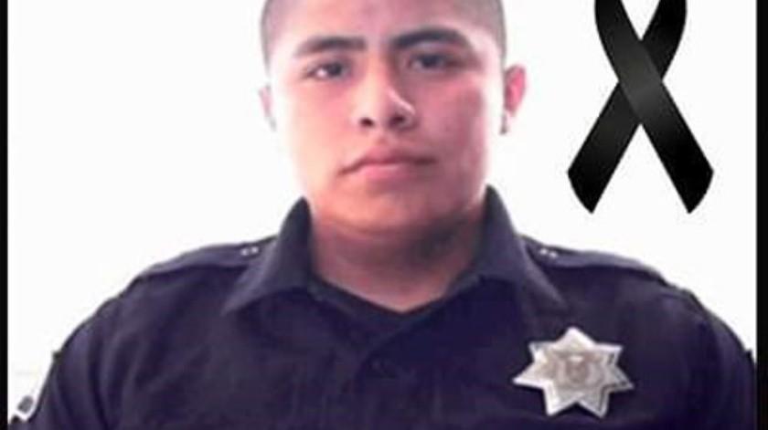 El agente Luis Rodrigo Juárez Arellanes tenía 28 años de edad.(Cortesía)