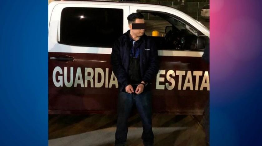 """El detenido está identificado como Ramiro Daniel """"N"""".(Cortesía)"""