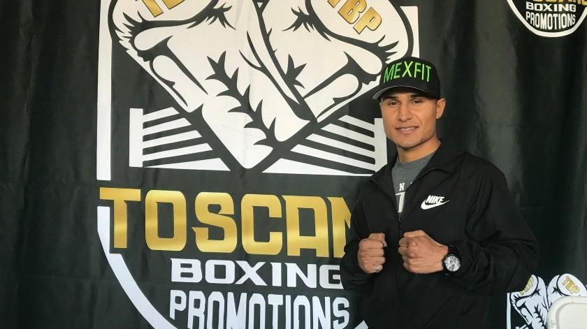 """Ricardo """"Hindú"""" Espinoza está listo para reaparecer en Tijuana luego de poco más de año y medio de no boxear en la ciudad.(Cortesía)"""