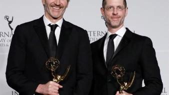 Game of Thrones creators David Benioff (L) and D.B. Weiss (R). EFE/EPA/JASON SZENES/Archivo