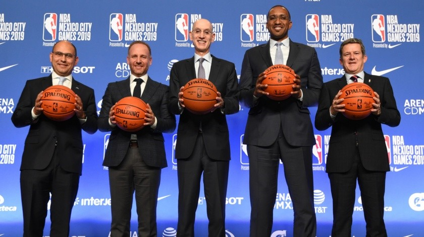 México tendrá equipo de desarrollo de la NBA.(Twitter)