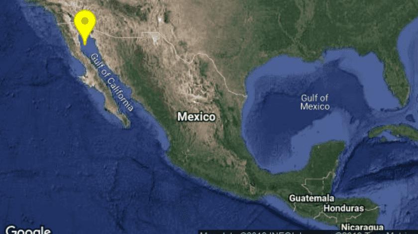 El día 10 de diciembre de 2019 el Servicio Sismológico Nacional (SSN) reportó una secuencia sísmica con 18 sismos.